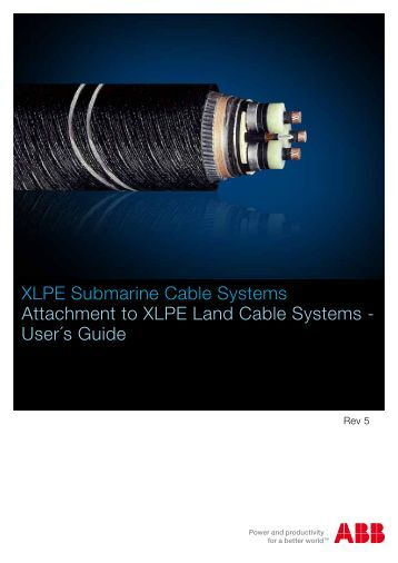 XLPE+Submarine+Cable+Systems+2GM5007+