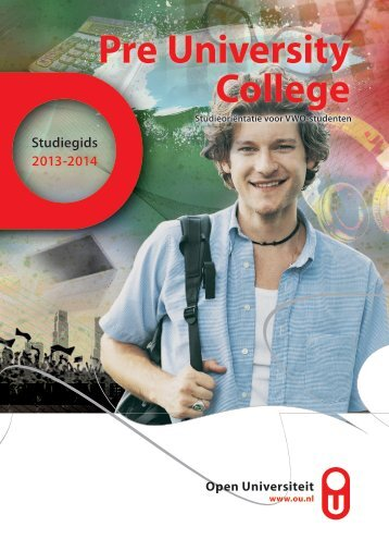Studiegids PUC 2013-2014 - Open Universiteit Nederland