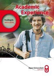Studiebrochure (PDF) - Open Universiteit Nederland