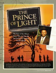 The Story of the African Prince Who Left Royalty and Fortune to ...