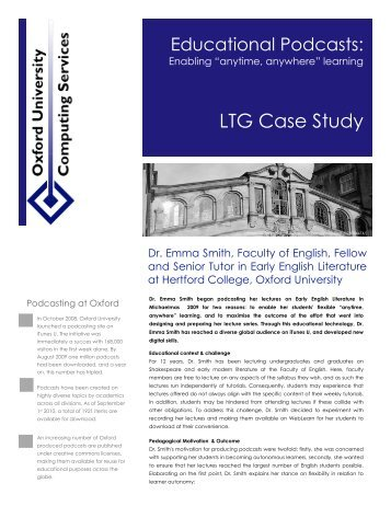 details about the case study - IT Services