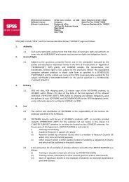 """SPSS (UK) Limited (""""SPSS"""") and the licensee identified ... - IT Services"""