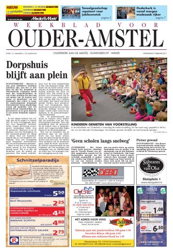 Weekblad 09-02-2011 - Gemeente Ouder-Amstel