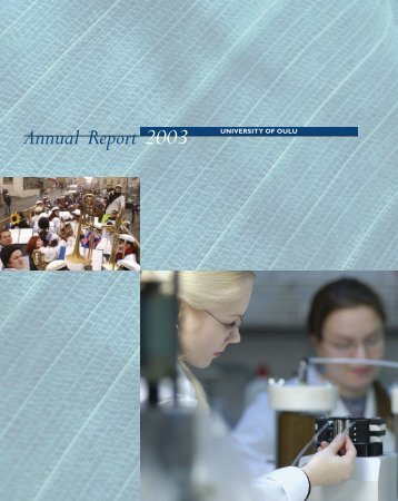 University of Oulu Annual Report 2003