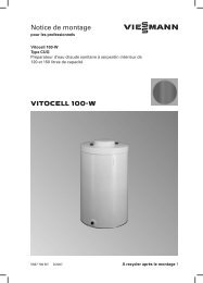 VITOCELL 100 W Notice de montage