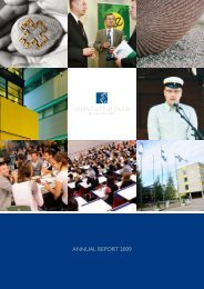 University of Oulu Annual Report 2009