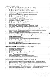Grades for Faculties – Text Faculty of Medicine (N = 28) (AM ... - Oulu