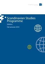 Scandinavian Studies Programme - Oulu