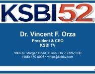 Dr. Vincen nt F. Orza - OU Medicine