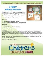 Pillow Patterns - OU Medicine