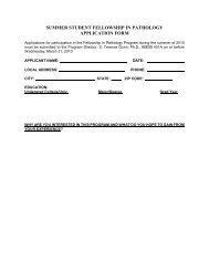 Application form - OU Medicine
