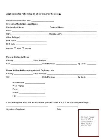 Application Form (PDF) - OU Medicine