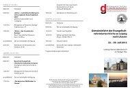 reformierten Kirche zu Leipzig nach Litauen 22. - 29. Juli 2012