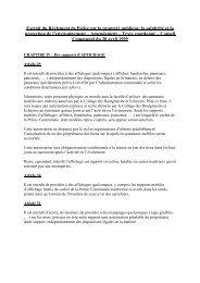 LISTE DES PANNEAUX D'AFFICHAGE - Oupeye