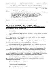PROVINCE DE LIEGE ARRONDISSEMENT DE LIEGE - Oupeye