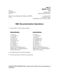 NBC Decontamination Operations - GlobalSecurity.org