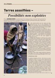Terres assoifées – Possibilités non exploitées - Our Planet