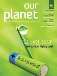 Clean Tech - Low Carbon, High Growth - Our Planet