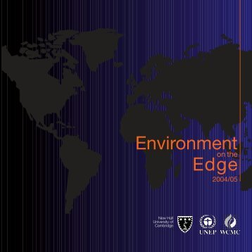 Environment on the Edge 2004-2005 - Our Planet