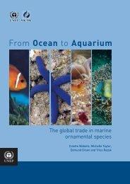 The global trade in marine ornamental species
