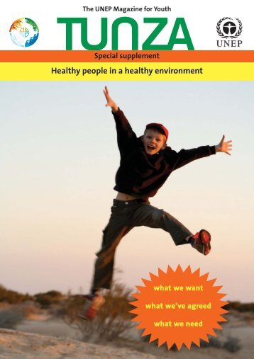 Healthy people in a healthy environment - Our Planet