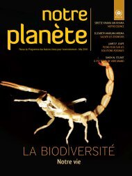 LA BIODIVERSITÉ - Our Planet
