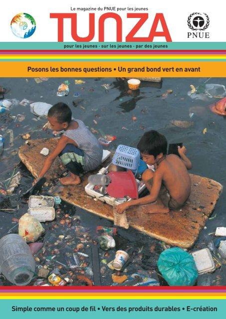 (Kenya) ; Jed Senthil (Singapour) - UNEP