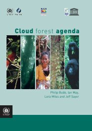 Cloud forest agenda - Our Planet