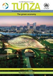 Tunza Vol. 09.4: The Green Economy - UNEP