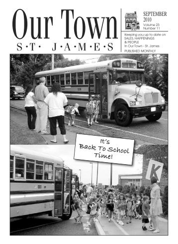 It's Back To School Time! - Our Town | St. James, NY