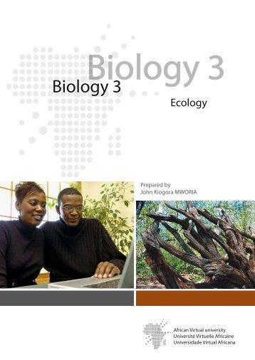 Ecology and Environment.pdf - OER@AVU - African Virtual University