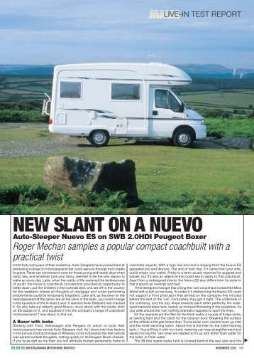 NEW SLANT ON A NUEVO - Out and About Live