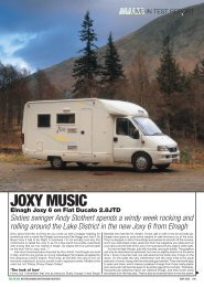 elnagh joxy 6 on fiat ducato 2.8jtd - Out and About Live