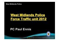 West Midlands Police - Out and About Live