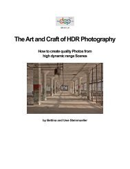 Art and Craft of HDR Phottography - Digital Outback Photo