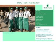 Rezepte Team Fresh Factory - OUTDOOR COOKING CHALLENGE ...