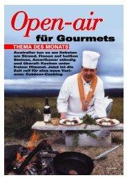 Open-air für Gourmets - OUTDOOR COOKING CHALLENGE, Die 1 ...