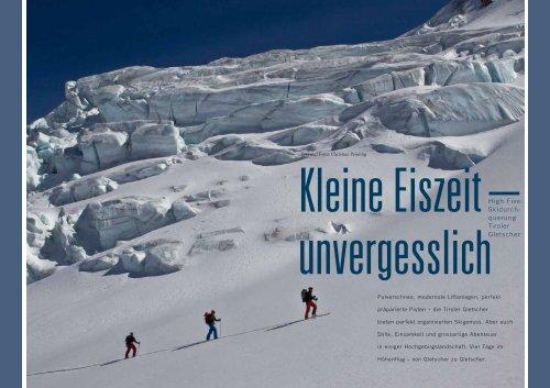 Im Blick: Tiroler Gletscher per Ski - Outdoor Guide