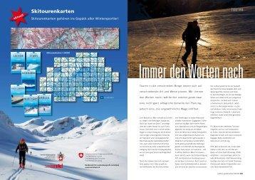 Tourenvorschläge: Ski-, Snowboard- und ... - outdoor guide