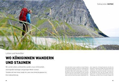 Trekking auf den Lofoten - outdoor guide