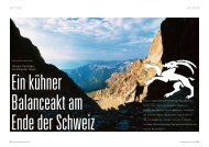Die Bergeller Alpen - outdoor guide