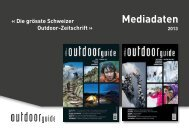 Mediadaten 2013 - outdoor guide