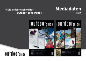 Mediadaten - outdoor guide