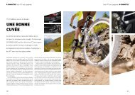 Test VTT tout suspendus - outdoor guide