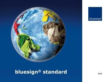 bluesign® standard - OutDoor Friedrichshafen