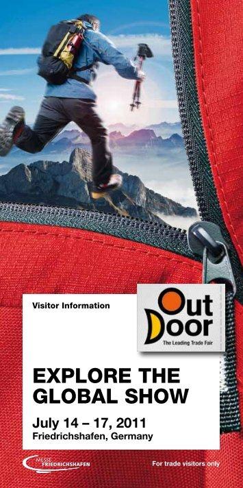 OutDoor 2011 | Visitor Information - OutDoor Friedrichshafen