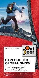 OutDoor 2011   Informazioni per i visitatori - OutDoor Friedrichshafen