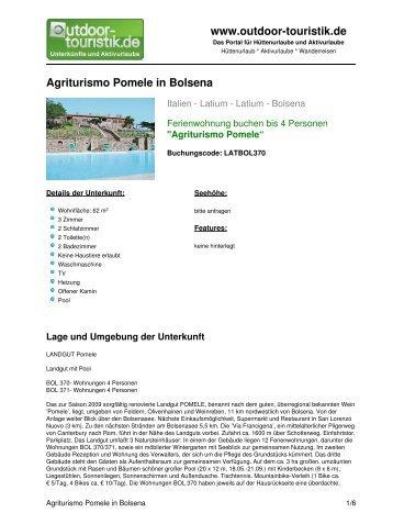 Ferienwohnung für 4 Personen in Bolsena - Outdoor-Touristik
