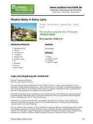 Ferienwohnung für 6 Personen in Esino Lario - Outdoor-Touristik