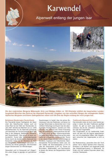Karwendel - Outdoor-Touristik